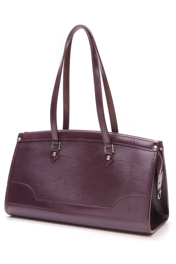 Louis Vuitton Madeleine PM Cassis Epi Leather Purple