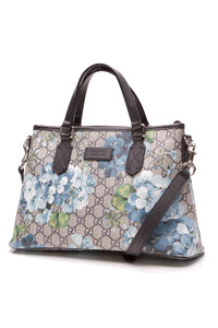 Gucci Blooms Top Handle Tote Blue