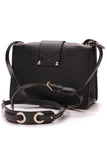 Jimmy Choo Rebel Crossbody Bag Black Leather