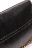 Gucci Horsebit Large Clutch Bag Black Leather