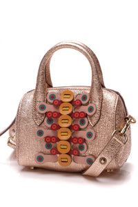 Anya Hindmarch Vere Mini Barrel Flip Shoulder Bag Pink