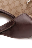 Gucci 85th Anniversary Horsebit Hobo Bag Signature Canvas Brown