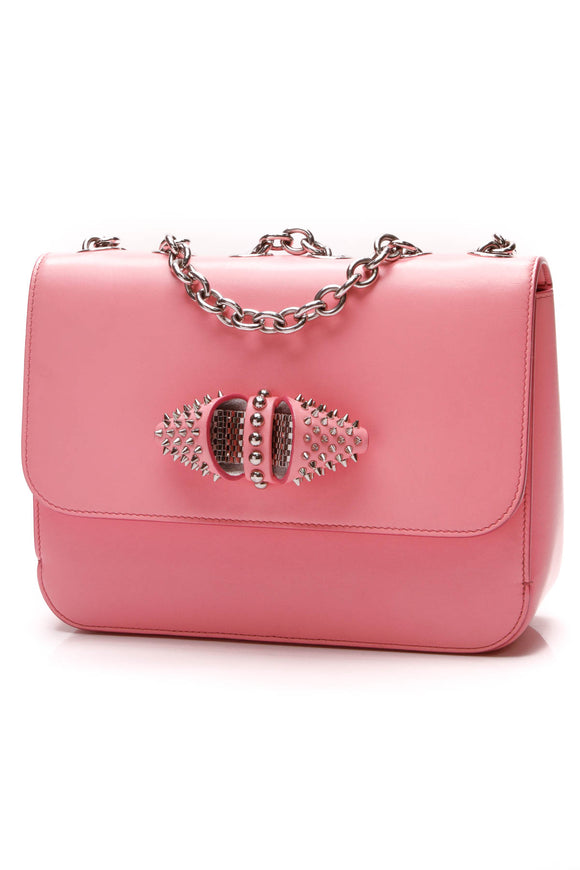Christian Louboutin Sweet Charity Bag Pink Leather