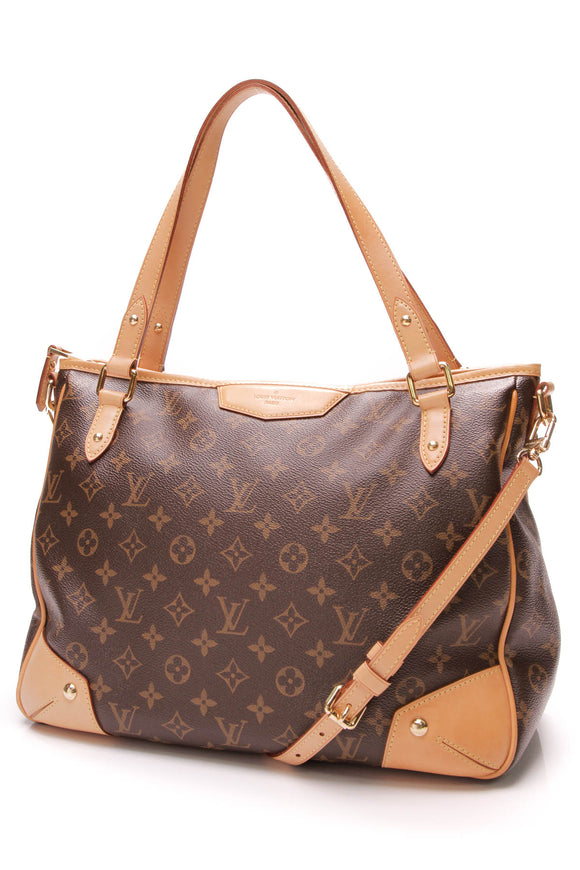 Louis Vuitton Estrela MM Tote Bag Monogram Canvas Brown