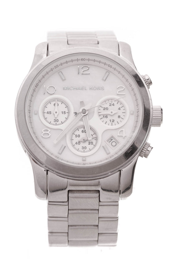 Michael Kors Runway Chronograph Bracelet Watch Stainless Steel