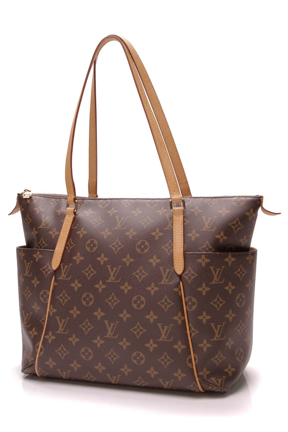 Louis Vuitton Totally MM Bag Monogram Canvas Brown