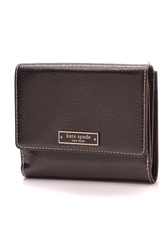 Kate Spade Compact Wallet Black