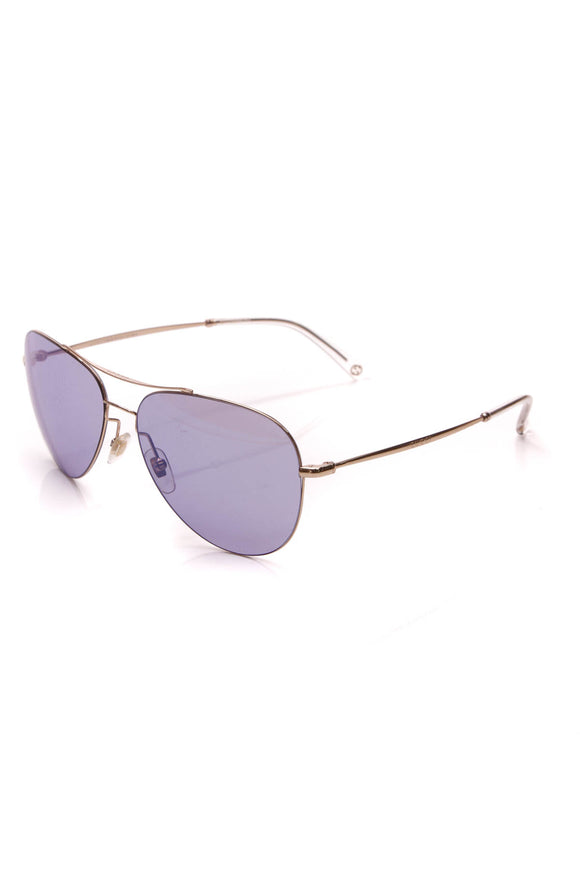 Gucci Aviator Sunglasses Gold Purple