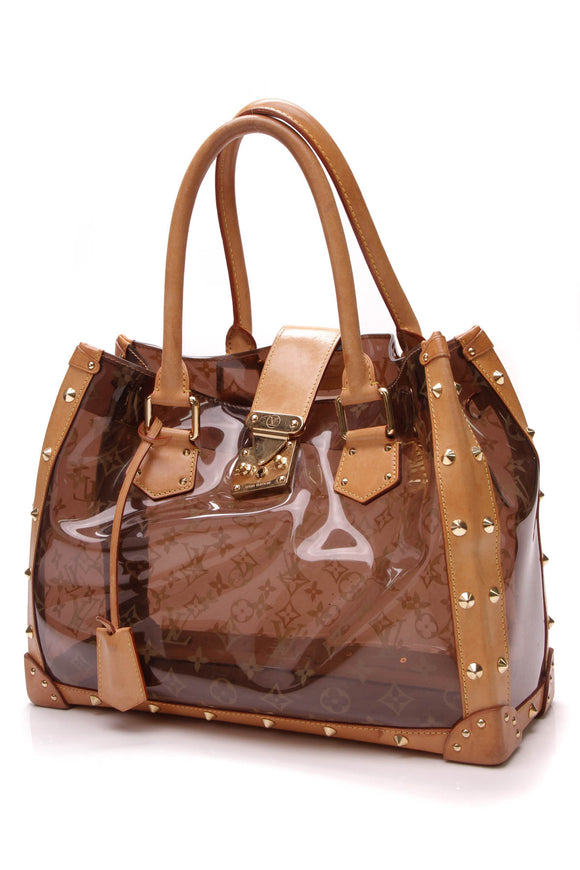 Louis vuitton Neo Cabas Cruise Bag Vinyl Monogram Ambre Brown
