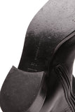 Bottega Vaneta Tall Leather Riding Boots Black Leather Size 36.5