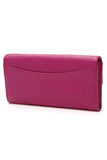 Mulberry Dome Rivet Continental Wallet Pink
