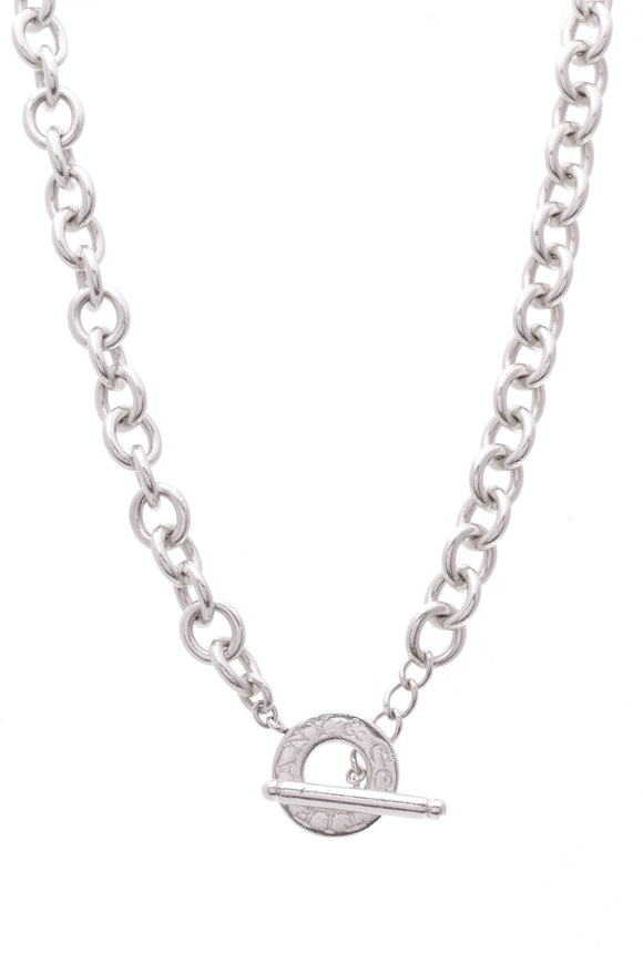 Tiffany & Co. Toggle Necklace Silver