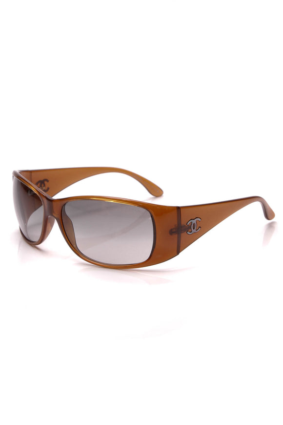 Chanel Rectangle Sunglasses 5087 Brown