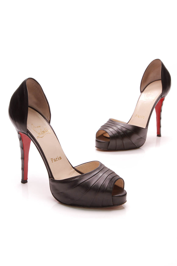 Christian Louboutin Armadillo 120 Pumps Black Size 38