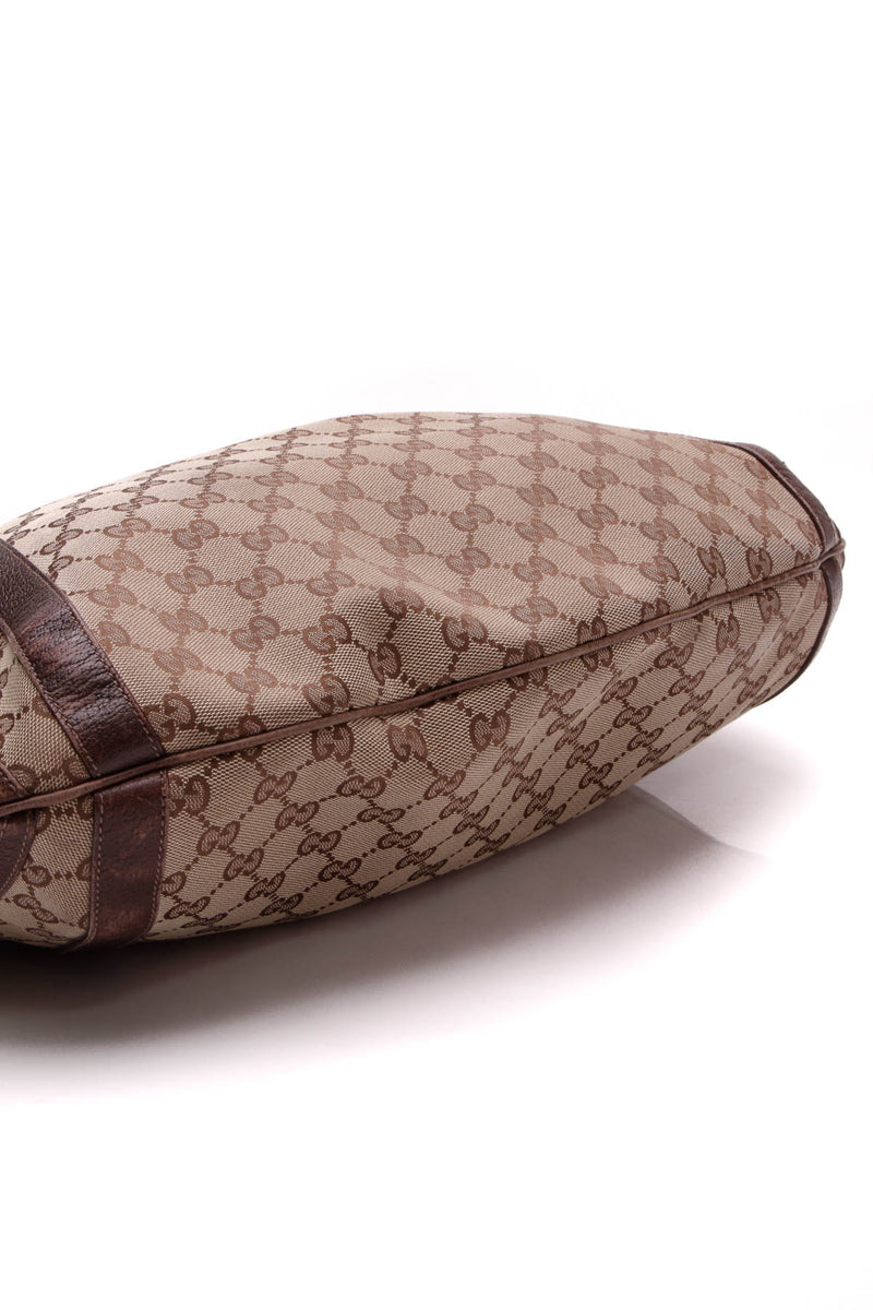 707979bee46 Gucci Abbey Convertible Hobo Bag - Signature Canvas – Couture USA