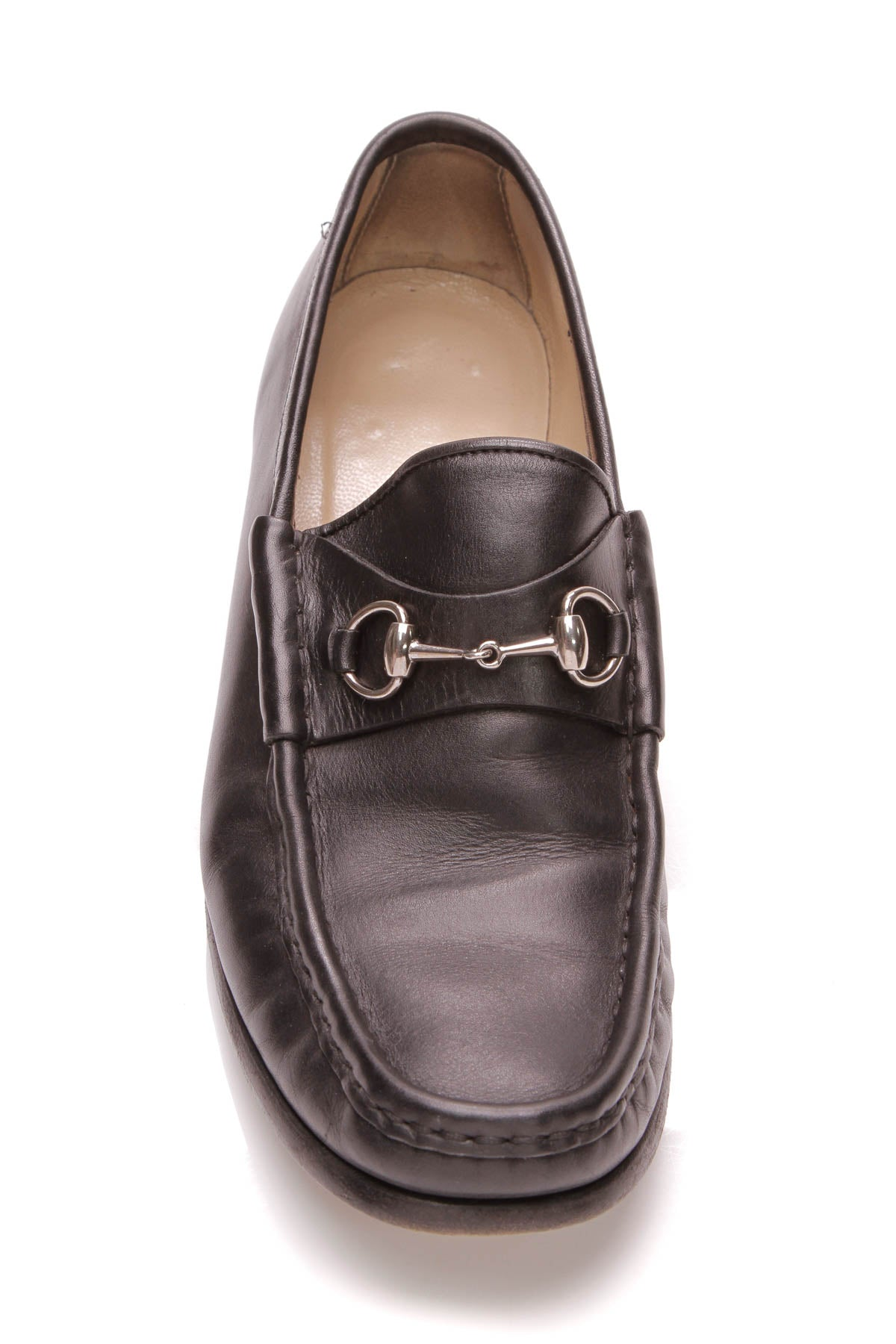 3b64af3b082 Gucci Classic Horsebit Loafers - Black Leather Size 8.5 – Couture USA