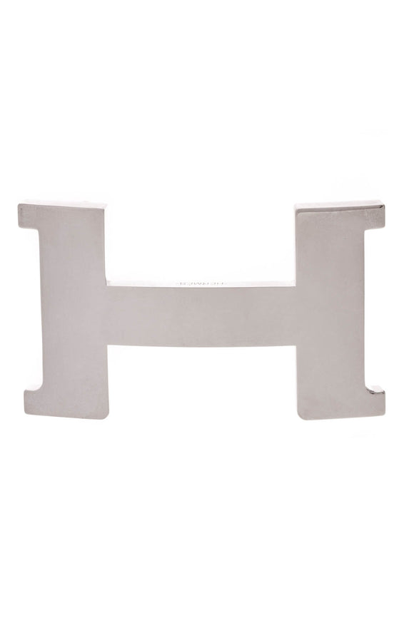Hermes Constance 38mm Belt Buckle Silver