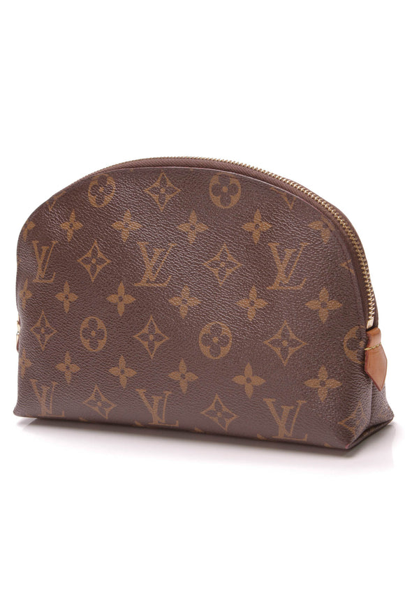 Louis Vuitton Cosmetic Pouch GM Monogram Canvas Brown
