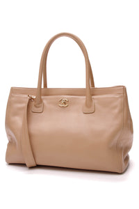 Chanel Cerf Shopping Tote Bag Beige
