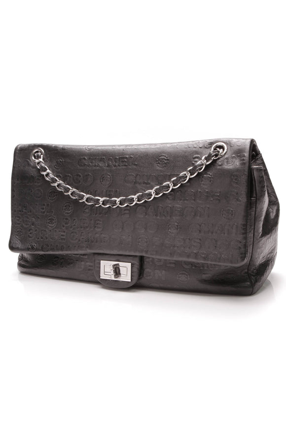 Chanel 31 Rue Cambon Double Flap Bag Black