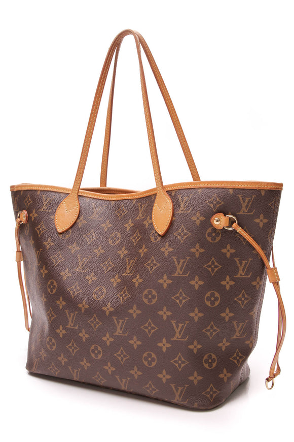 Louis Vuitton Neverfull MM tote bag monogram canvas