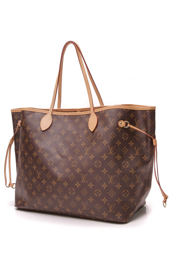Louis Vuitton Neverfull GM tote bag monogram canvas