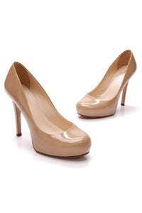 Kate Spade Lori Heel Pumps New Camel Size 6