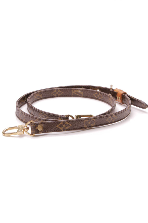 Louis Vuitton Adjustable Strap Monogram Brown