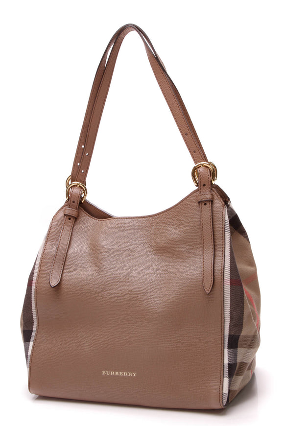 Burberry Small Canterbury Tote Bag Light Brown