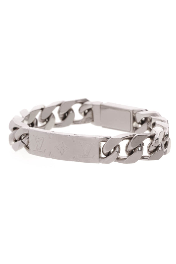 Louis Vuitton Chain Men's Bracelet Silver