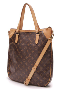 Louis Vuitton Odeon GM bag Monogram Canvas Brown