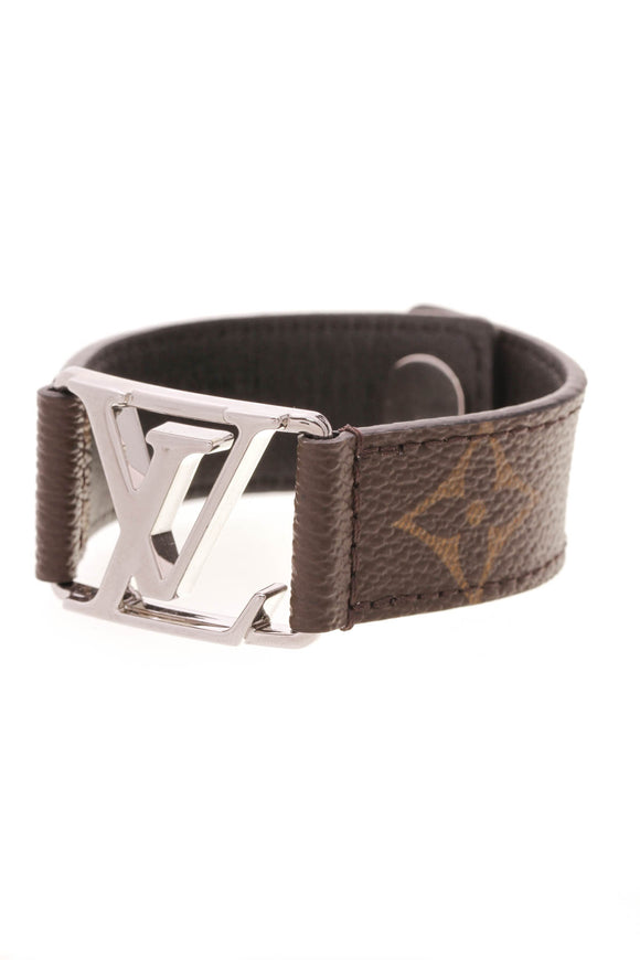 Louis Vuitton Hockenheim Men's Bracelet Monogram Brown