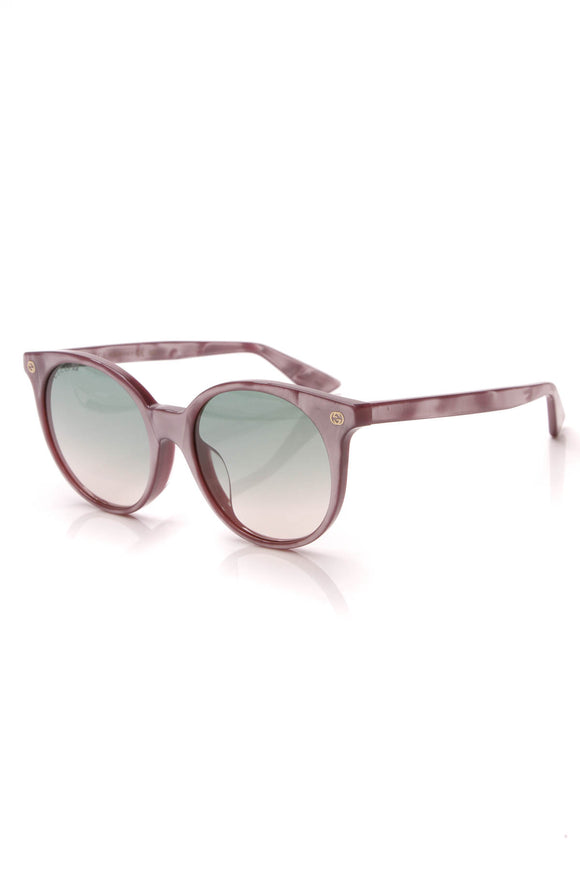 Gucci Round Sunglasses 0091 Purple