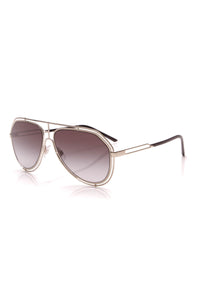 Dolce and Gabbana Aviator Sunglasses DG2176 Silver