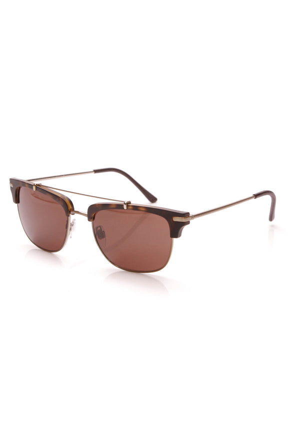 Burberry Square Frame Sunglasses 4202 Brown