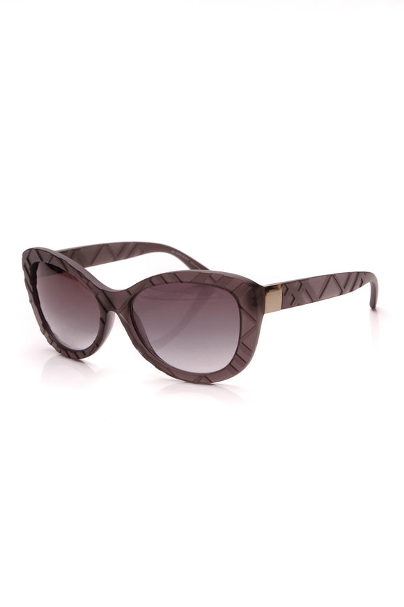 Burberry Cat Eye Check Sunglasses 4217 Gray