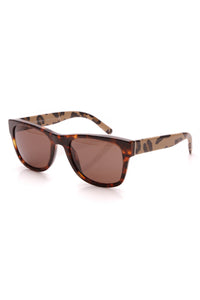 Burberry Square Leopard Sunglasses 4161 Brown