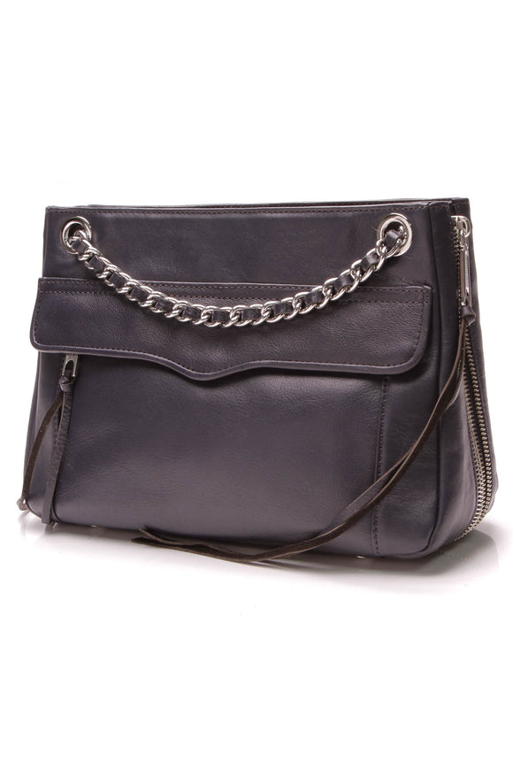 Rebecca Minkoff Swing Shoulder Bag Navy