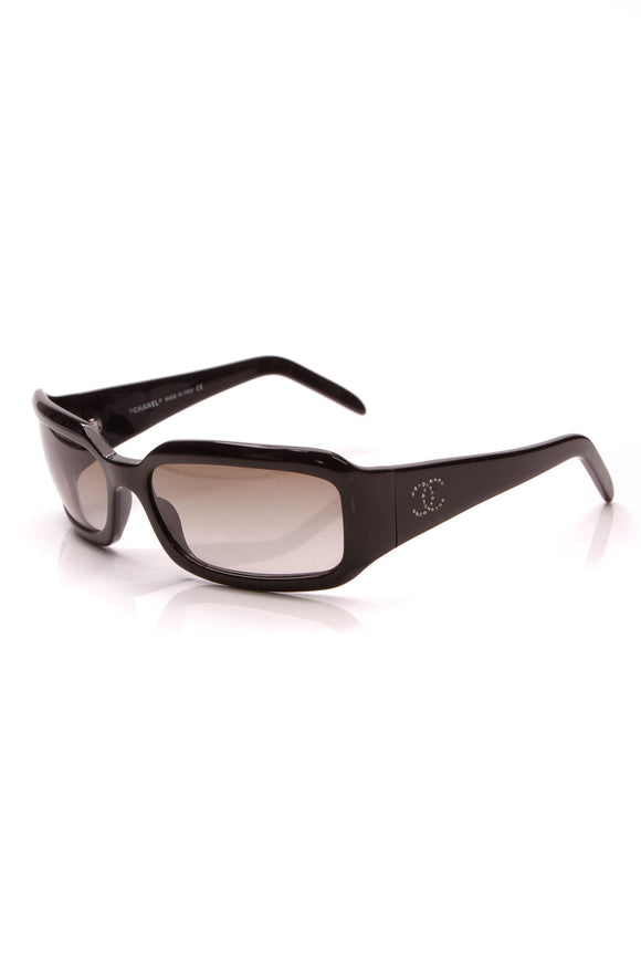 Chanel Square Sunglasses Black