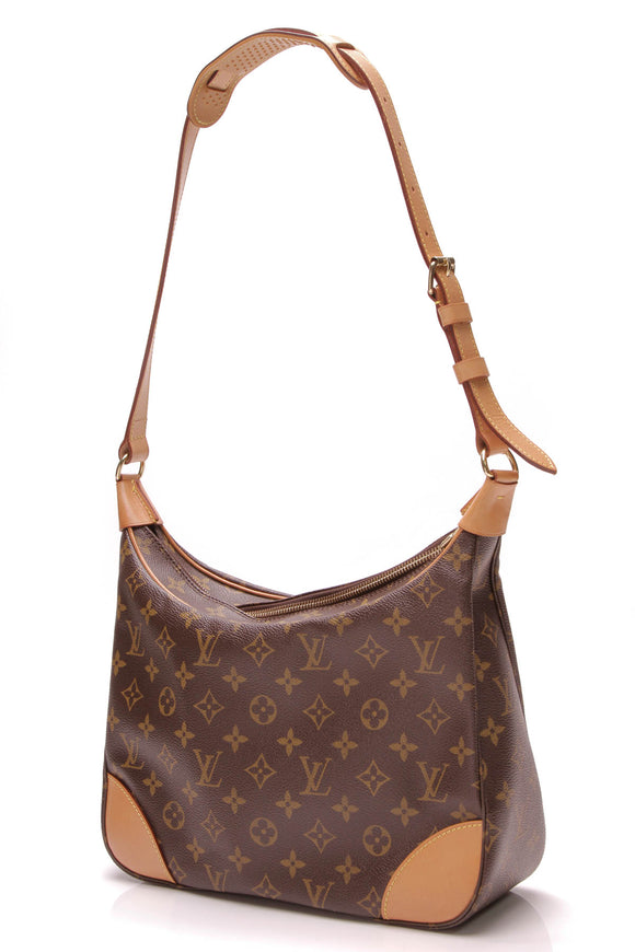 Louis Vuitton Boulogne 30 Bag Monogram Canvas Brown