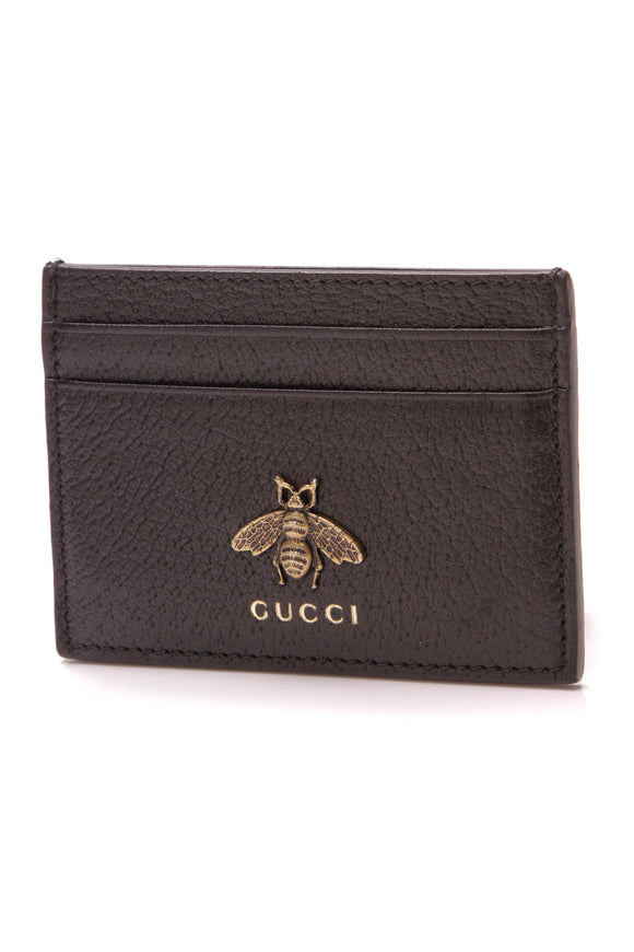 Gucci Animalier Card Case Black
