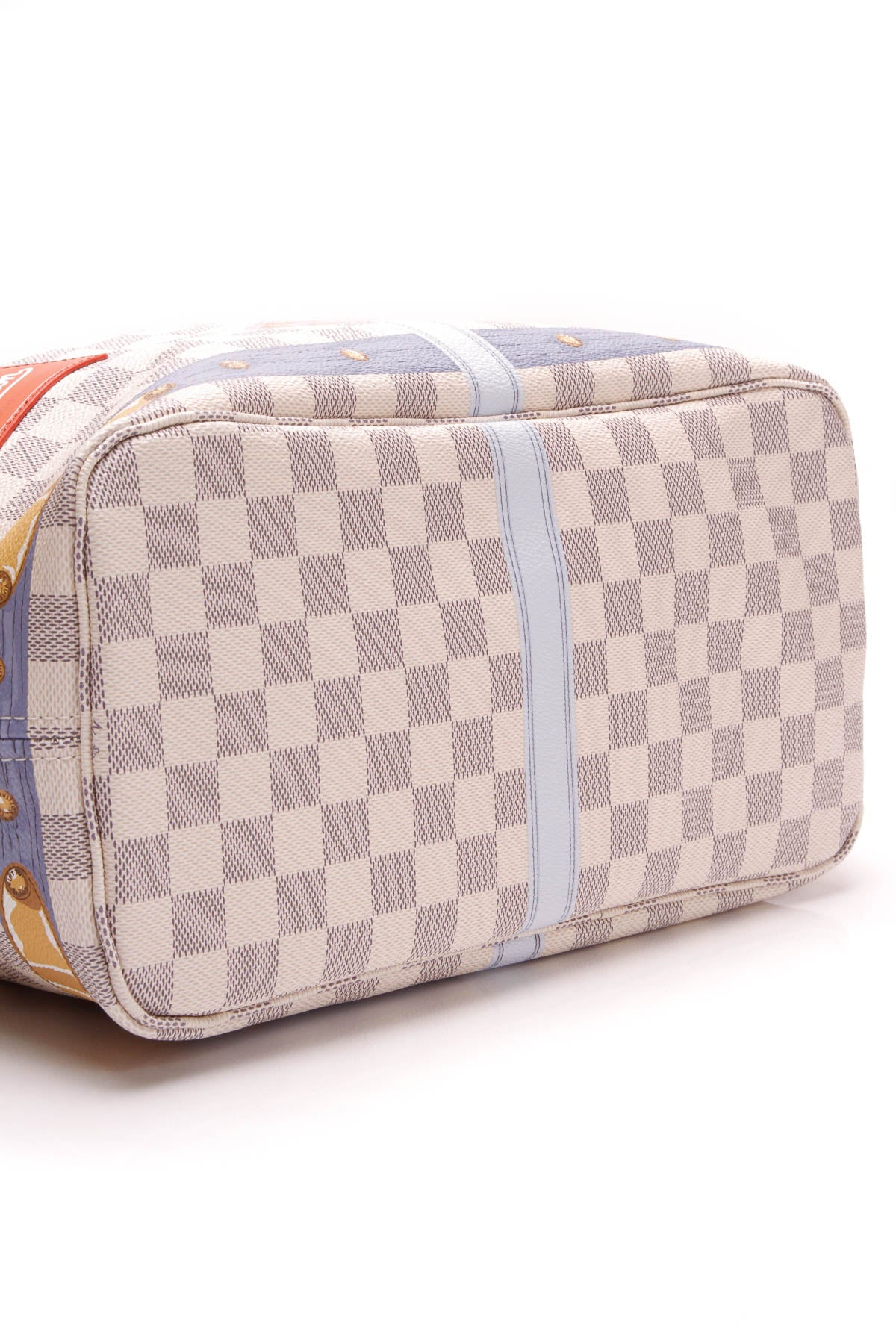 aa0a55c44794 Louis Vuitton Summer Trunks Neo Neverfull MM Bag - Damier Azur ...