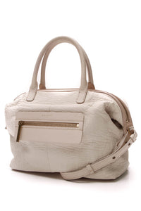 Lanvin Satchel Bag Ivory Leather