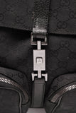 Gucci Jackie Backpack Black Signature Canvas