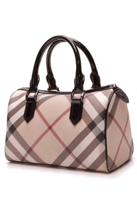 Burberry Medium Chester Bowling Bag - Supernova Check – Couture USA 32cc08385a7d6