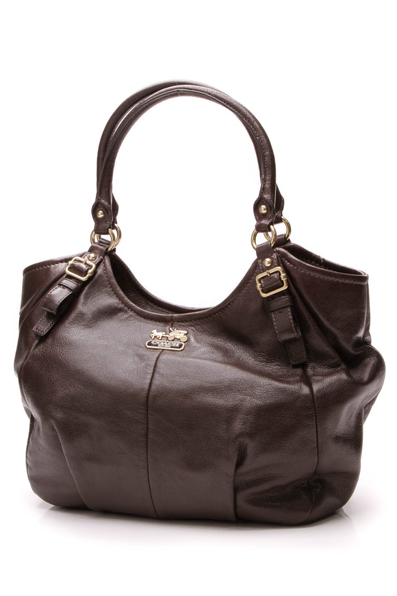 Coach Abigail Shoulder Bag Madison Leather Brown