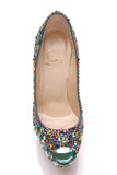 Christian Louboutin Highness Strass 160 Pumps Multicolor Size 38