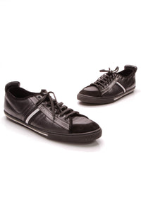 Louis Vuitton Low Top Men's Sneakers Black Size 12