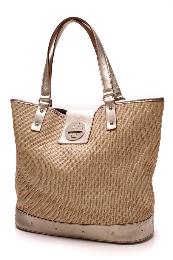 Kate Spade Summer Beach Tote Bag Tan