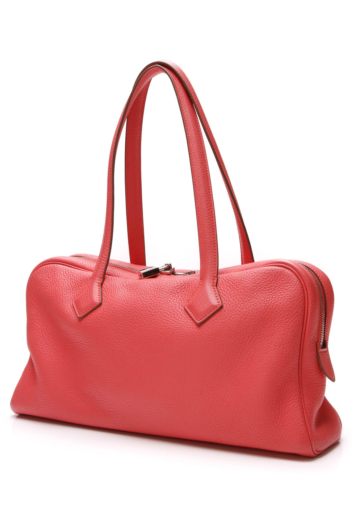 ff5075a6f7f14 Hermes Victoria Elan 38 Bag - Bougainvillea Clemence – Couture USA